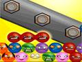 Gooballs - Bolas sairão de um tubo e você tem que destruí-las. Junte os da mesma cor para que elas estourem, seja rápido para conseguir muitos pontos em cada fase.