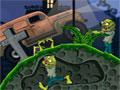 Graveyard Racer - O planeta está sendo infectado por zumbis. Sua missão é tentar sobreviver até o final do jogo, passe com seu carro por cima de todos os monstros que encontrar.