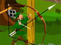 Green Archer - Você é o Robin Hood e tem que acertar os alvos no cenário do game. Atire as flechas e marque pontos, aproveite para atingir itens que estão próximos, assim conseguirá mais rápido a pontuação para ir para o próximo estágio.