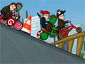 Gregmaniacs - Aposte uma corrida com seus amigos até o trabalho. Tente ser o primeiro a passar na linha de chegada, recolha o maior número de anéis possíveis pra ter uma boa pontuação.