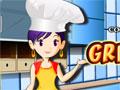 Jogo - Grill Pork Chops Cooking, Neste game Venha ser uma culinarista perfeita, fazendo uma saborosa receita, cortando seus temperos corretamente e no tempo certo. Prepare pratos dos mais variados com sua professora de culinária e vá evoluindo a cada nível adquirido.