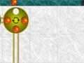 Clique nos pratos para girá-los e nas bolas para lança-las nos trilhos! as bolas podem passar uma sobre as outras nos trilhos! Junte 4 bolas da mesma cor para explodir um prato!, expluda todos os pratos para passar o nível.