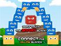 Happy Square Blocks - Ajude os blocos recolhendo todos os biscoitos. Posicione as peças para formar uma plataforma resistente, seja bem habilidoso para que tudo fique equilibrado.
