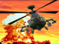 Controle o seu helicóptero e destrua todos os inimigos que aparecer em sua frente, tome muito cuidado com os ataques aéreos.