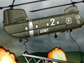 Heli Support - Use a lógica para guiar o tanque de guerra. sua tarefa é levar o carro até o local indicado, use o helicóptero como auxilio para colocar as peças nas áreas especificas do jogo.