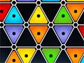 Hexoku - Complete o tabuleiro para formar o hexágonos. Você tem como opção jogar com cores ou números sem repetir em nenhum dos símbolos, observe bem quando há necessidade de trocar só não pode mexer nos que são fixo.