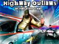 Highway Outlaws - Você foi designado há escoltar um carro forte. Sua missão é atirar nos bandidos que se aproximam para não deixar que eles roubem o dinheiro, não cometa nenhum erro.