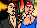 Highway Pursuit - Faça a segurança de uma gangue após o assalto. Pelas ruas atire nas viaturas que se aproximam e ganhe muito dinheiro com as destruições e assim compre novas armas e mais ajudantes para essa fuga em cada fase.