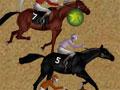 Horse Racing - Está acontecendo uma grande competição de cavalos onde só os melhores jóqueis da cidade estão participando. Escolha o melhor cavalo para corrida, você pode aumentar seu nível de energia antes de começar para chegar em primeiro lugar e receber as medalhas.