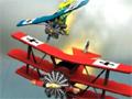 Jogo - Hostile Skies, Neste combate aéreo, você tem que acabar com todos os aviões inimigos, mostre que você comanda nesta guerra!, tome cuidado ao completar sua missão, pois você tem que reduzir a sua velocidade para conseguir pousar sua aeronave corretamente.