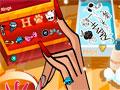 Howleen Wolf Manicure - Mostre suas habilidades como manicure. Arrume as unhas de uma das personagem da Monster High, escolhendo o tipo de unha, a cor que mais combina com a modelo e os adesivos.