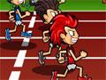 Jogo - Hyper Undokai, Uma nova olimpíada esta perto de acontecer e você deve estar sempre preparado para enfrentar os atletas mais velozes do mundo, Faça o seu treinamento em uma corrida de 100 Metros e faça o seu melhor tempo, seja rápido e tome cuidado para não cair.