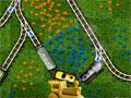 Railroad Shunting Puzzle 2 - Controle as locomotivas e vagões pelos trilhos. Engate e desengate o carregamento no momento mais correto mudando as faixas para que tudo saía perfeitamente.