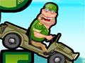 Jeep In The Jungle - Ajude esse coronel meio louco que teve uma idéia maluca. Conduza o jeep até a linha de chegada, só que tem um pequeno detalhe o carro está sem combústivel, então estoure bombas para pegar impulso e recolha todas as estrelas necessária para completar a fase.