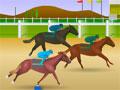 Jogo Online - Jockey Star, Participe de um campeonato com corrida de cavalos, sua missão neste game é testar o seu reflexo e clicar toda vez que a barra verde passar pela área de galope, Seja rápido e faça o seu cavalo vencer a corrida.
