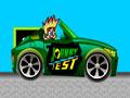Johnny Test Ride - Acelere fundo com Johnny Test. Encare mais esse desafio alucinante, pilote o seu carro e recolha o maior número de itens possíveis pelo trajeto, mostrando sua habilidade a cada missão concluída.