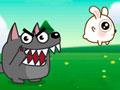 Jump Jump Rabbit - Ajude o coelho chegar até sua mãe para fazer uma visita. Comece se aventurando pela floresta cheia de perigos, escape dos lobos saltando sobre as plataformas e recolha as moedas pelo caminho.