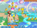 Jumping Bananas em sua 2º versão, seu objetivo é ajudar o macaquinho a recolher todas as bananas em todos os níveis do jogo, cuidado com o tempo disponível no jogo e aproveite para recolher todos os itens para que você consiga super poderes nesta Aventura.
