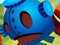 Jumping Box 2 - Use a lógica para levar o robô até o portal. Mire e mande o robôzinho até o plasma passando pelo obstáculo para completar todos os níveis.