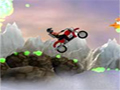 Pilote uma moto com um caminho cheio de obstáculos, seu objetivo é recolher todos os dirigíveis e ganhar muitos pontos, acelere fundo com sua moto.
