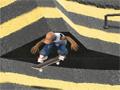 Jogo - Kickflip, Mais um game feito para os verdadeiros skatistas, faça diversas manobras com seu skate, somente assim você vai conseguir alcançar a pontuação necessária para passar de nível.