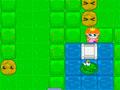 Kiss The Frog - Ajude a princesa chegar até seu príncipe encantado. Guie pelo labirinto retirando as pedras e colocando nos buracos para passar, seja rápido antes que seu tempo esgote.