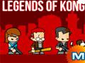 Legends Of Kong - Escolha um dos integrantes disponíveis para uma batalha contra os monstros. Lute contra cada um e vá recolhendo os itens pelo caminho, entre em portais que te levarão para outra parte obscura.