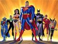 Jogo da Liga da Justiça, Mongul e o exército do Planeta Guerreiro planejam acabar com o Planeta Terra e somente a Liga da Justiça pode detê-lo, seu objetivo neste jogo é ajudar a Mulher-Falcão, o Lanterna Verde, o Caçador Marciano e o Flash a salvar toda a humanidade.