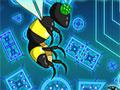 Jogo - Light Flight, Corte o mapa do jogo e deixe os rob�s inimigos presos nas suas armadilhas, no total s�o 12 n�veis cheios de inimigos preparados para te enfrentar. Seja r�pido nas suas miss�es, pois os mutantes est�o sedentos do seu sangue.