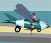 Ajude esses amigos a lançar o avião e fazer com que chegue o mais longe possível.