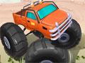 Jogo - Mad Truck, Faça o controle de um veículo truck pelas montanhas. Acelere fundo e vença todos os obstáculos que aparecer em seu caminho. Preste muita atenção e tome muito cuidado para não capotar. Complete todo o percurso e divirta-se!