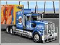Jogo Mad Truckers, você agora é um caminhoneiro de muita responsabilidade, seu objetivo é conduzir uma grande carreta com o maior cuidado possivel, em estradas que possuem diversas dificuldades e obstáculos, você deve desviar dos carros pois seu transporte deve chegar no seu destino muito seguro.