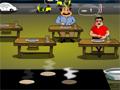 Neste jogo de Restaurante, você é o responsável por atender todos os motoristas que escolhem a sua parada e que estão famintos por uma gostosa massa ao forno, sirva todos os fregueses o mais rápido que você conseguir.