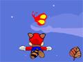 Elimine todos os inimigos neste jogo do Mario.