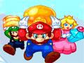 Mario Ice Treasure - Os amigos de Mario encontraram o tesouro de Bowser. Sua missão é ajudá-los ao escapar das armadilhas do vilão, coloque os blocos em pontos estratégicos do cenário.Divirta-se com esse novo game do Mario Bros.