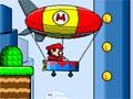 Mario Zeppelin 2 - Ajude o Mario em mais de suas aventura. Em seu balão voe pelo cenário recolhendo as moedas para marcar muitos pontos e completar sua missão.