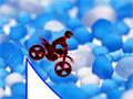 Divirta-se com este novo cenário bem colorido do Max Dirt Bike, seu objetivo é chegar até o final do trajeto passando por todos os obstáculos sem capotar da moto.