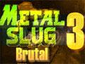 Jogo - Metal Slug Brutal 3, O Soldado do Metal Slug esta de volta com o game em sua versão Brutal. Esteja preparado para invadir a base dos seus inimigos e atire sem nenhuma piedade. Preste bastante atenção nos ataques surpresos  aéreos. Seja o vencedor desta guerra.