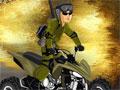 Jogo - Military Rush, Escolha entre a Moto ou Quadriciclo e prepare-se para invadir a base do exercito inimigo, complete todos os circuitos e tome muito cuidado para que você não venha capotar e perder a chance de completar todos os níveis.