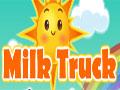 Milk Truck - Dirija o caminhão rosa cheio de alimentos. Você tem que carregar o transporter e levar os mantimentos até outro lado sem perder nada pelo caminho, seja rápido e ao mesmo tempo cuidadoso pois existe subidas muito íngreme e perigosas podendo perder o controle do veiculo.
