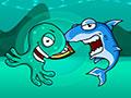 Monster Eats Food - Escolha um dos personagens e comece o jogo. Coloque toda a sua agilidade em prova, seja mais rápido que seu oponente coma o máximo de fruta que conseguir e evite pegar as estragadas e congeladas.