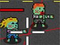 Monster Mowdown 2 - Proteja o caminhão dos zumbis que querem destruí-lo. Use o veículo e o helicóptero ao mesmo tempo para exterminar cada um, você vai precisar ser bem ágil em sua missão.