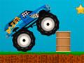 Monster Truck Championship - Pilote seu carro monster como nunca. Passe pelos obstáculos recolhendo todas as estrelas e boost pelo caminho, seja rápido para completar com melhor tempo a corrida.