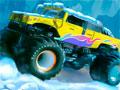 Monster Truck Seasons - Controle seu carro truck em uma pista cheia de gelo. Passe por cima de qualquer objeto ou obstáculo pelo caminho e recolha as estrelas pelo caminho.