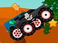 Monstrous Trucks -  Acelere fundo com seu carro truck. Escolha uma das três opções de veículos e comece a corrida, ultrapasse seus adversários e salte sobre os obstáculos recolhendo as estrelas pelo percurso.