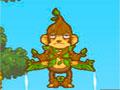 Monty S Moon - Ajude o Monty chegar na lua. Calcule a for�a necess�ria para lan�ar o macaco o mais longe que conseguir, recolha as bananas e desvie dos obst�culos pelo caminho.
