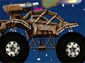 Moon Police - Você está encarregado de proteger a lua de um ataque. Com seu transporte chegue de forma segura até seu destino sem perder carga ao longo do caminho.