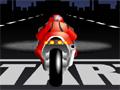 Controle uma moto em alta velocidade e ultrapasse seu próprio recorde.