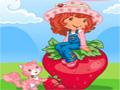 Jogo da Moranguinho, seu objetivo é ajudar ela a recolher todas as frutas e gotas de água que você encontrar no seu caminho para acumular muitos pontos, divirta-se com este game da Moranguinho.