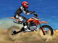 Pilote sua moto em alta velocidade pulando os obstáculos e fazendo diversas manobras radicais com giros de 360 graus. Recolha também os pacotes de dinheiro nas fases e complete todo o circuito na frente dos seus oponentes.